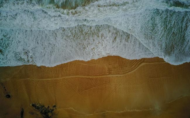 Strand von oben ©Gipfelfieber Studio