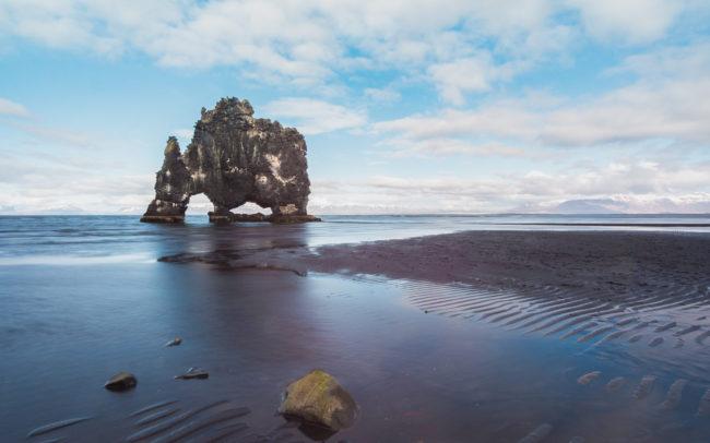 Hvítserkur auf Island ©Gipfelfieber Studio