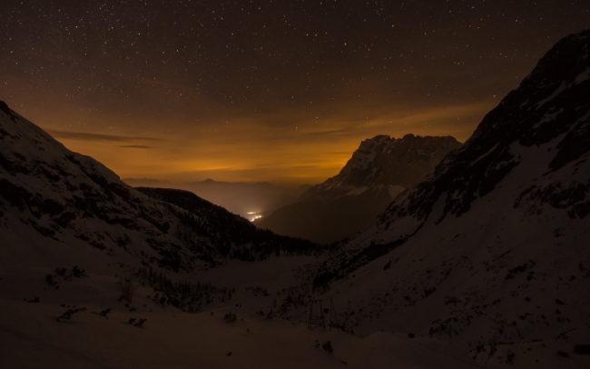 Zugspitze bei Nacht ©Gipfelfieber Studio