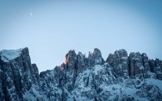 Mond über dem Latemar ©Gipfelfieber Studio