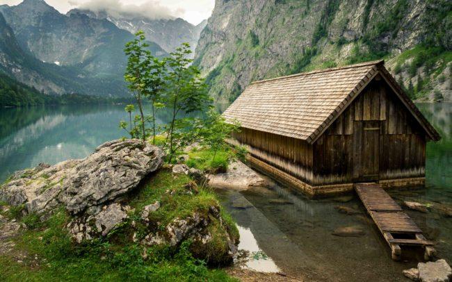 Bootshaus am Obersee ©Gipfelfieber Studio